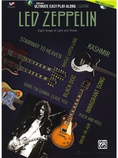 Ultimate Easy Guitar Play-Along: Led Zeppelin Books and DVDs / Videos | Guitar, Guitar Tab
