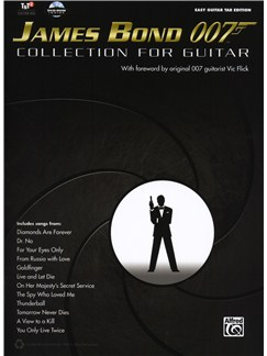 James Bond 007: Collection For Guitar Books and CD-Roms / DVD-Roms | Guitar Tab, Guitar