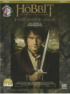 The Hobbit: An Unexpected Journey - Instrumental Solos (Trumpet) Books and CDs | Trumpet