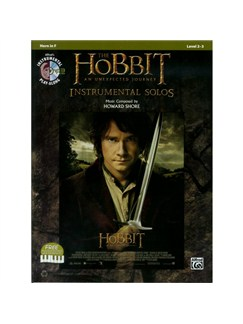 The Hobbit: An Unexpected Journey - Instrumental Solos (Horn In F) Books and CDs | French Horn