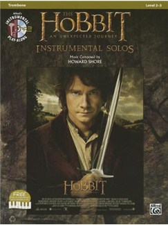 The Hobbit: An Unexpected Journey - Instrumental Solos (Trombone) Books and CDs | Trombone