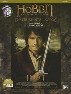 The Hobbit: An Unexpected Journey - Instrumental Solos (Violin) Books and CDs | Violin