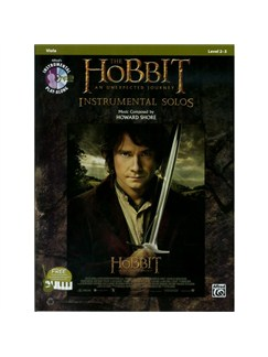 The Hobbit: An Unexpected Journey - Instrumental Solos (Viola) Books and CDs | Viola