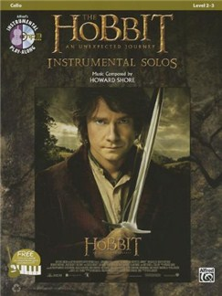 The Hobbit: An Unexpected Journey - Instrumental Solos (Cello) Books and CDs | Cello