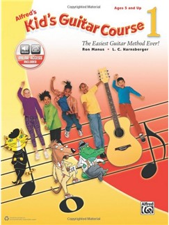 Alfred's Kid's Guitar Course - Book 1 (Book/Online Audio) Books and Digital Audio | Guitar