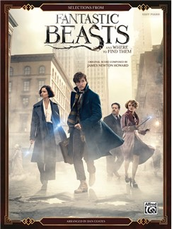 Selections From Fantastic Beasts And Where To Find Them (Easy Piano) Libro | Piano Fácil