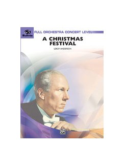 Leroy Anderson: A Christmas Festival (Full Score/Parts) Books | Orchestra