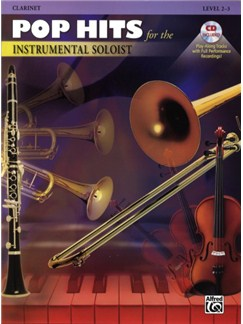 Pop Hits For The Instrumental Soloist (Clarinet) Books and CDs | Clarinet