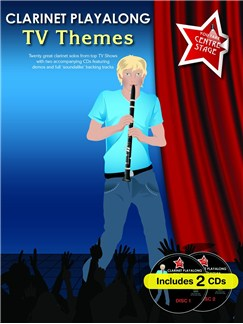You Take Centre Stage: Clarinet Playalong TV Themes Books and CDs | Clarinet
