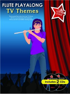 You Take Centre Stage: Flute Playalong TV Themes Books and CDs | Flute