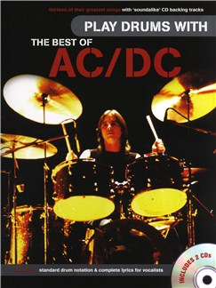 Play Drums With... The Best Of AC/DC Books and CDs   Drums