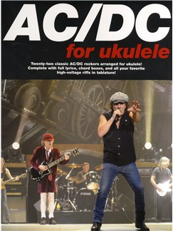 AC/DC For Ukulele Books | Ukulele