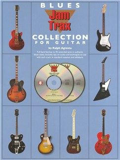 Ralph Agresta: Blues Jam Trax Collection For Guitar Livre | Tablature Guitare