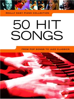 Really Easy Piano Collection: 50 Hit Songs Libro | Piano(Diagramas)