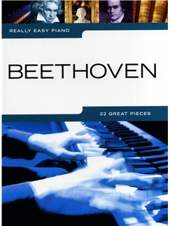 Really Easy Piano: Beethoven Books | Piano