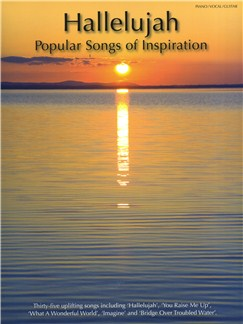 Hallelujah: Popular Songs Of Inspiration Livre | Piano, Chant et Guitare