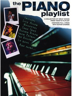 The Piano Playlist Books | Piano, Vocal & Guitar