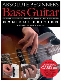 Absolute Beginners: Bass Guitar - Omnibus Edition (Book/Audio Download) Books and Digital Audio | Bass Guitar