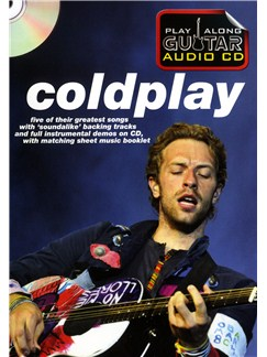 Play Along Guitar Audio CD: Coldplay Books and CDs | Guitar Tab