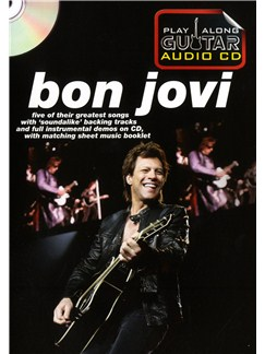 Play Along Guitar Audio CD: Bon Jovi Buch und CD | Gitarrentabulatur