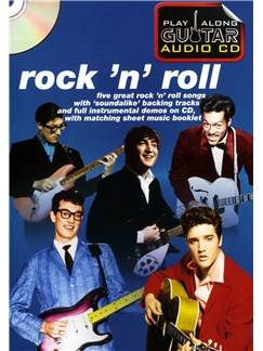 Play Along Guitar Audio CD: Rock 'N' Roll Books and CDs | Guitar Tab