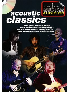 Play Along Guitar Audio CD: Acoustic Classics Books and CDs | Guitar Tab