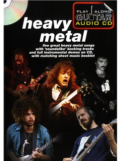 Play Along Guitar Audio CD: Heavy Metal Books and CDs | Guitar Tab