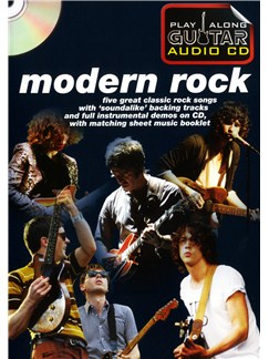 Play Along Guitar Audio CD: Modern Rock Books and CDs | Guitar Tab