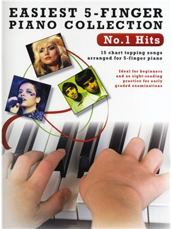 Easiest 5-Finger Piano Collection: No.1 Hits Books | Piano