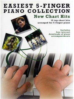 Easiest 5-Finger Piano Collection: New Chart Hits Books | Piano