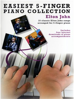 Easiest 5-Finger Piano Collection: Elton John Books | Piano