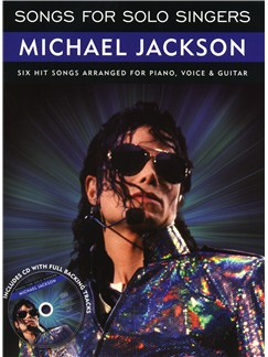Songs For Solo Singers: Michael Jackson Books and CDs | Piano, Vocal & Guitar (with Chord Symbols)