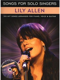 Songs for Solo Singers: Lily Allen Books and CDs | Piano, Vocal & Guitar