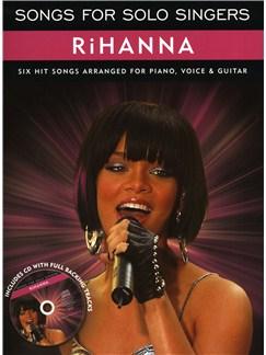 Songs For Solo Singers: Rihanna CD et Livre | Voix