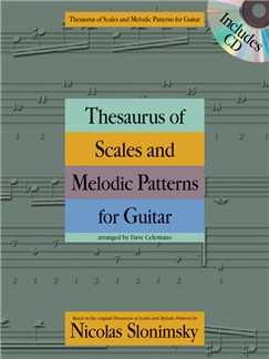 Nicolas Slonimsky: Thesaurus of Scales and Melodic Patterns (Guitar) Books | Guitar Tab, Guitar