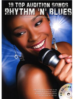 19 Top Audition Songs: Rhythm 'N' Blues Books and CDs | Piano, Vocal & Guitar