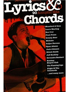 Lyrics & Chords: 90 Acoustic Hits Books | Lyrics & Chords