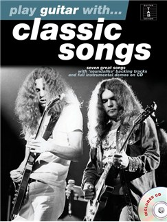 Play Guitar With... Classic Songs Books and CDs | Guitar, Guitar Tab