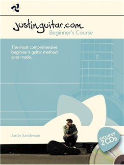 Justinguitar.com Beginner's Course - Book/2 CDs (Spiral Bound) Books and CDs | Guitar
