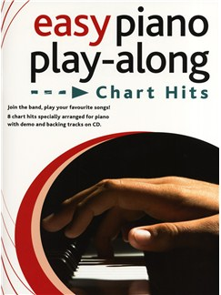 Easy Piano Play-Along - Chart Hits Books and CDs | Piano