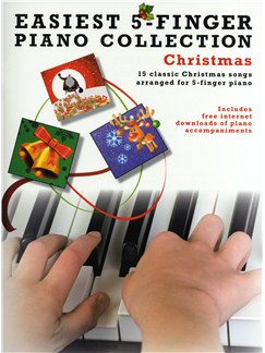 Easiest 5-Finger Piano Collection: Christmas Books | Piano