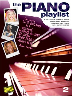 The Piano Playlist 2 Books | Piano, Vocal & Guitar
