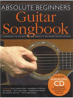 Absolute Beginners Guitar Songbook Bk/CD Books and CDs | Guitar