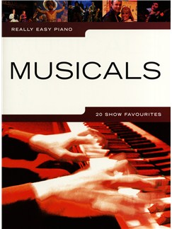 Really Easy Piano: Musicals - 20 Show Favourites Books | Piano