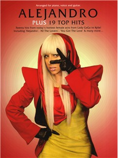 Alejandro Plus 19 Top Hits Books | Piano, Vocal & Guitar