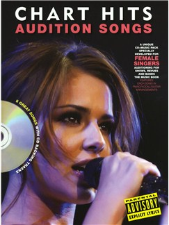 Audition Songs For Female Singers: Chart Hits Books and CDs | Piano, Vocal & Guitar