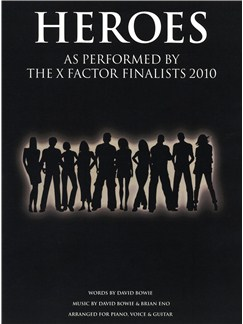 X Factor Finalists: Heroes Books | Piano, Vocal & Guitar