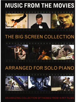 Music From The Movies: The Big Screen Collection Livre | Piano