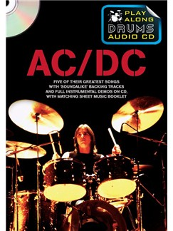 Play Along Drums Audio CD: AC/DC Books and CDs | Drums