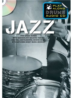 Play Along Drums Audio CD: Jazz Books and CDs | Drums